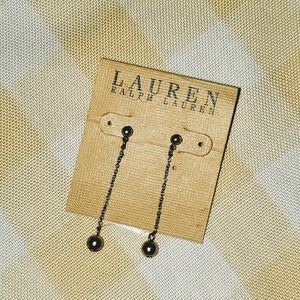 Ralph Lauren drop Earrings